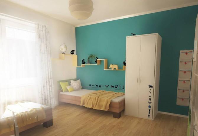 Reconstruction of childrens room in Partizánske