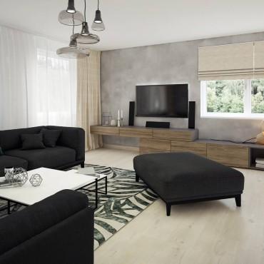 Reconstuction of house interior in Partizánske