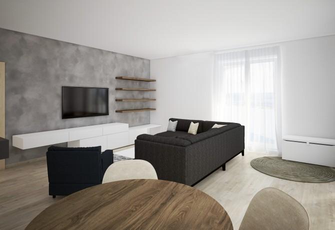Layout3d flat interior Prague