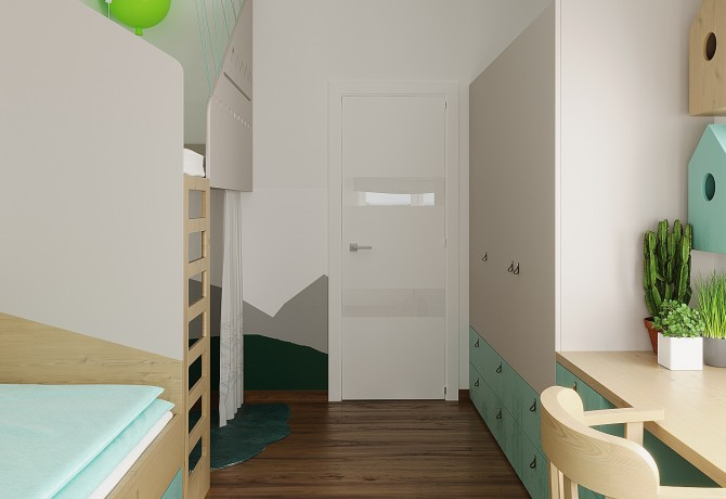Design of small room for kid