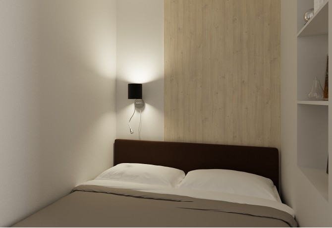 Sleeping in linving room