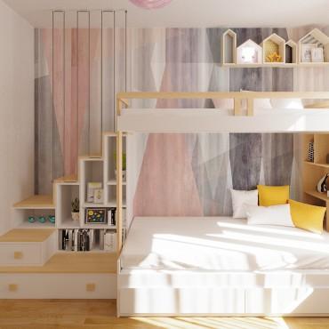 Small atipical children's room design